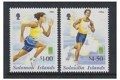 Solomon Islands - 2000 Olympic Games set - MNH - SG 973/4