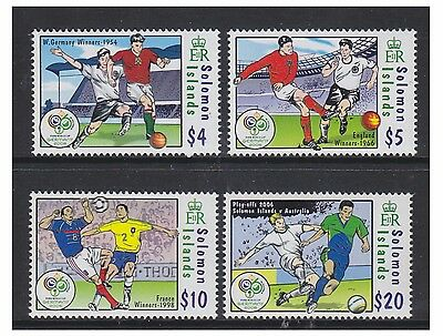 Solomon Islands - 2006 World Cup set - MNH - SG 1184/7