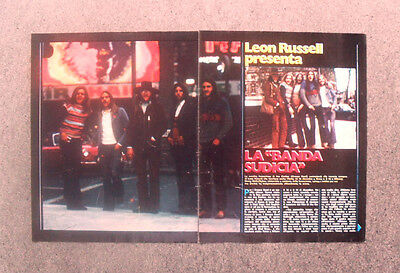 Ritaglio / Clipping - GREASE BAND , LEON RUSSELL (1972) #137