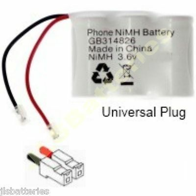 04C 3.6v cordless phone Battery 600mAh GP30AAK3BM T388 T157 T107 30AAH3BMU 30A