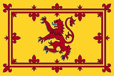 5 x 3 Feet Scotland Lion Yellow Country National Flags With Eyelets