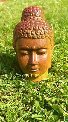 New Rubber Latex Mould Mold To Make Small Buddha Head Bust Garden Ornament