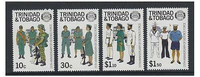 Trinidad & Tobago - 1988 Defence Force set - MNH - SG 732/5