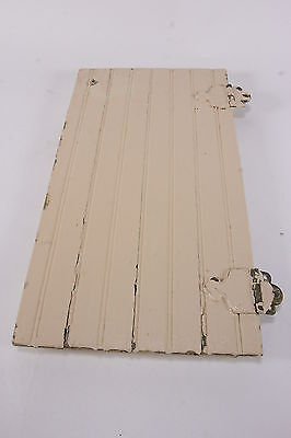 Shabby Chic Primitive Rustic Painted Small Door Wainscoting Salvaged Cabinet Pc