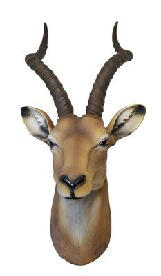 Antelope Head Bust Hanging Wall Mount Home Decor Collection Statue Figurine