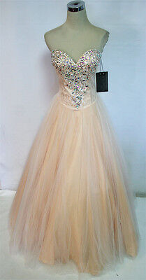NWT Mac Duggal 64309A Candy Pink $478 Prom Party Gown 2