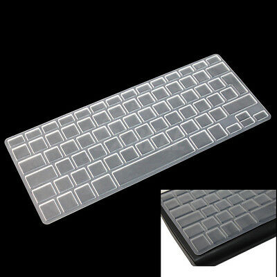 UK EU Silicone Keyboard Cover Skin for Macbook Pro 13 15 17 Protective Clear New