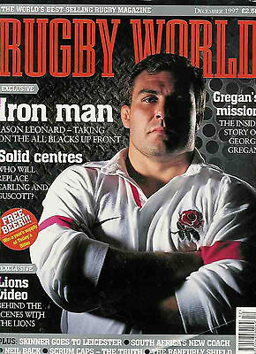 Rugby World Mag December 1997 - Waikato, London Welsh Moseley Colts, Hymers Coll