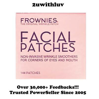 Frownies 144 Facial Patches For Wrinkles On Corners Of Eyes & Mouth - Fast Post!