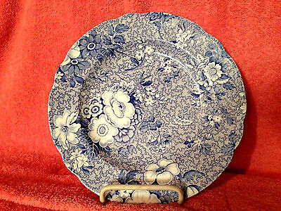 SPODE BLUE ROOM COLLECTION  PRIMULA  LUNCHEON PLATE