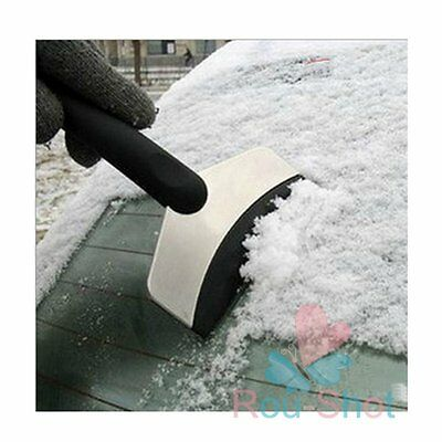 Winter Car Care Ice Shovel Scraper Snow Remover Stainless Cleaning Tool Garden