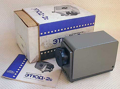 FED ETUDE 2C, 35mm slide projector, BRAND NEW, SEALED, in ORIG. BOX!