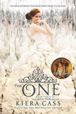 The One by Kiera Cass (English) Paperback Book Free Shipping!