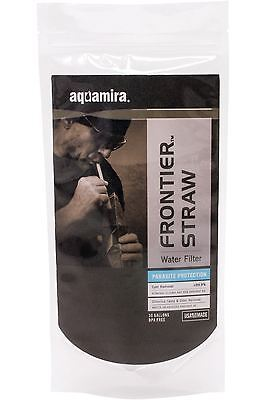 New Aquamira Frontier Water Filter - Military Edition - Blue Line - Filter Straw