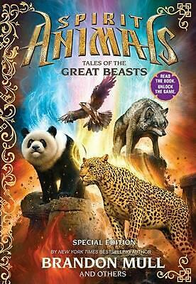 Tales of the Great Beasts by Brandon Mull (English) Hardcover Book Free Shipping