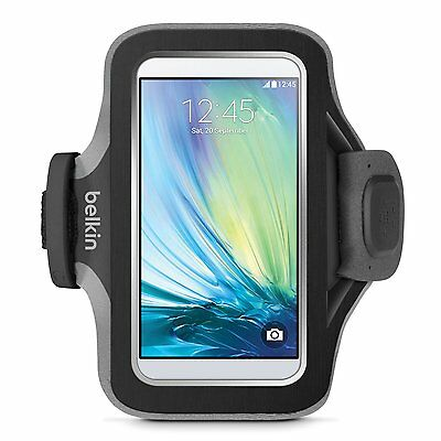 Belkin Slim-Fit Plus Armband Card Pocket Cord Management for Galaxy S7 S6 Edge