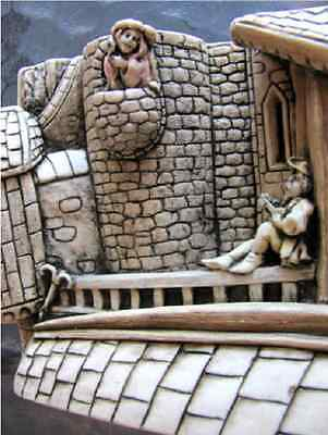 """***Picturesque Tile Harmony Kingdom Wimberley Tales """"The Lovers""""  in Box ***"""