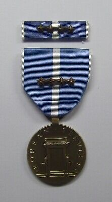 U.S. Korean Service Military Medal with RIBBON 4 Battle Stars