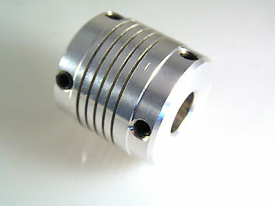 IMO ESG11/11/30 Flexible Coupling - 11mm Shaft Lightweight Bright Alloy OM0326C