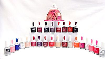 ibd Nail Soak off JUST GEL POLISH Colors A - Z .5oz/15ml ~ Pick 12  bottles ~