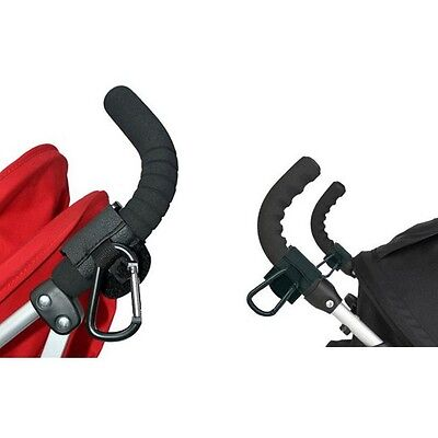 Universal Buggy Clip Prams Pushchairs Shopping Bag Hook Carabiner Clip Hooks Z