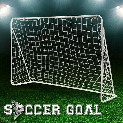 Soccer Goal Frame Portable Football Net with Polyester Steel No Ball Goals