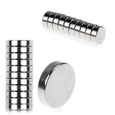 10/20pcs 5x2mm/12x3mm Disc Round Rare Earth Neodymium Strong Magnets Craft Model