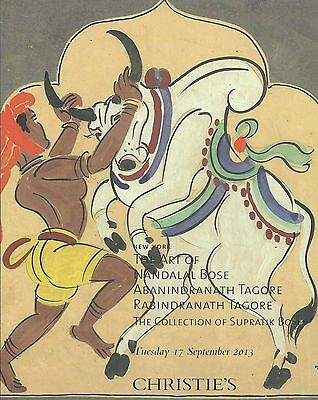 CHRISTIE'S INDIAN ART Nandalal BOSE TAGORE Bose Collection Auction Catalog 2013
