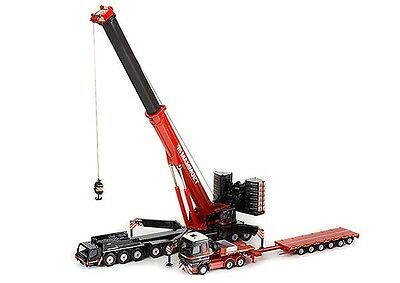 1:87 WSI Collectibles Mammoet Liebherr Crane w/ MB Actros LH MP3 and Lowloader