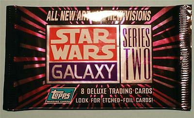 1993 Topps Star Wars Galaxy Series 2 Trading Card Pack