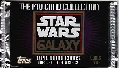 1993 Topps Star Wars Galaxy Series 1 Trading Card Pack