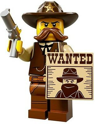 (NEW) LEGO Minifigures - Series 13 #2 - The Sheriff - split from packet