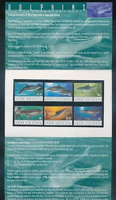 PAPUA NEW GUINEA 2003 DOLPHINS SET Wildlife MNH PACK(Pap61)