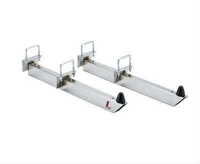 "Lakewood 20470 Traction Bars Universal 28"" Length Steel Chrome Plated Pair"