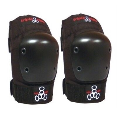 Triple Eight 8 Skate EP55 Capped Elbow Pads Small Black Skateboard
