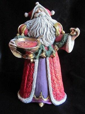 PRICE REDUCED!  Beautifully painted 10&1/2 inch  Santa Claus figuine
