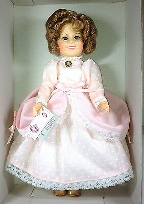 """VINTAGE SHIRLEY TEMPLE 12"""" LITTLE COLONEL IDEAL DOLL 1982 NIB NEVER DISPLAYED!"""
