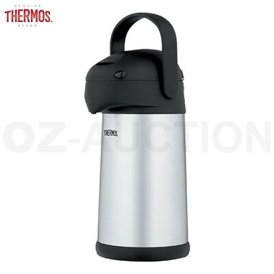 2.5L Vacuum Insulated Stainless Steel Pump Pot with 360 Degree Swivel Base
