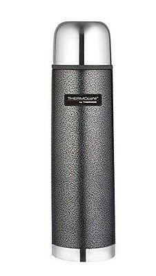 Thermos Thermocafe 1.0 Litre Stainless Steel Hammertone Flask - Thermos NEUF