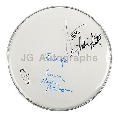 The Pointer Sisters - Classic R&B Group - Autographed Drumhead - by 2