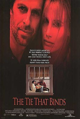 The Tie That Binds 27 X 40 1995 Original D/s Movie Poster -Daryl Hannah