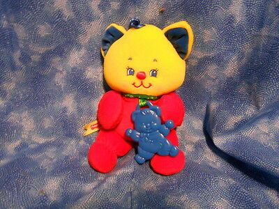 1998 Fisher Price Num-Num / Num-Nums Kitten Teether Plush Baby Toy