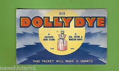 #d173. Pack Of Dolly Dye - Red