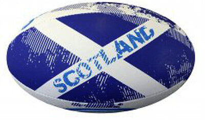 102547 SPORTS DEAL Optimum Nations World Cup 2015 Rugby Ball - Scotland