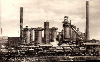 Frodingham near Scunthorpe. New Furnace by Bartle Bros.