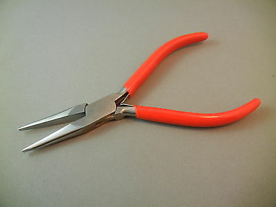 145mm Superior Quality Jewelry Craft Stainless Steel Tapered Flat Nose Pliers