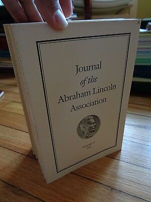 Lot of 12 Issues Journal Abraham Lincoln Association Papers of Assoc.