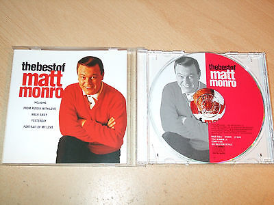 Matt Monro - The Best Of (CD) 20 Greatest Hits - Ex Condition - Fast Postage