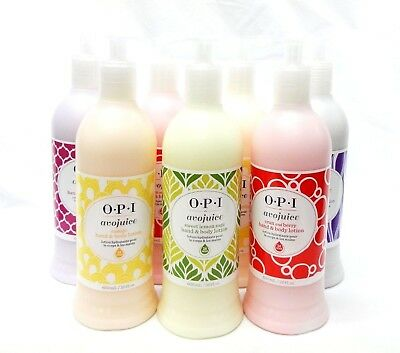 OPI Avojuice Hand & Body Lotion Variety Assorted Choice 20oz/600mL new look