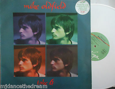 "MIKE OLDFIELD ~ Take 4 EP ~ 12"" Single PS WHITE VINYL"